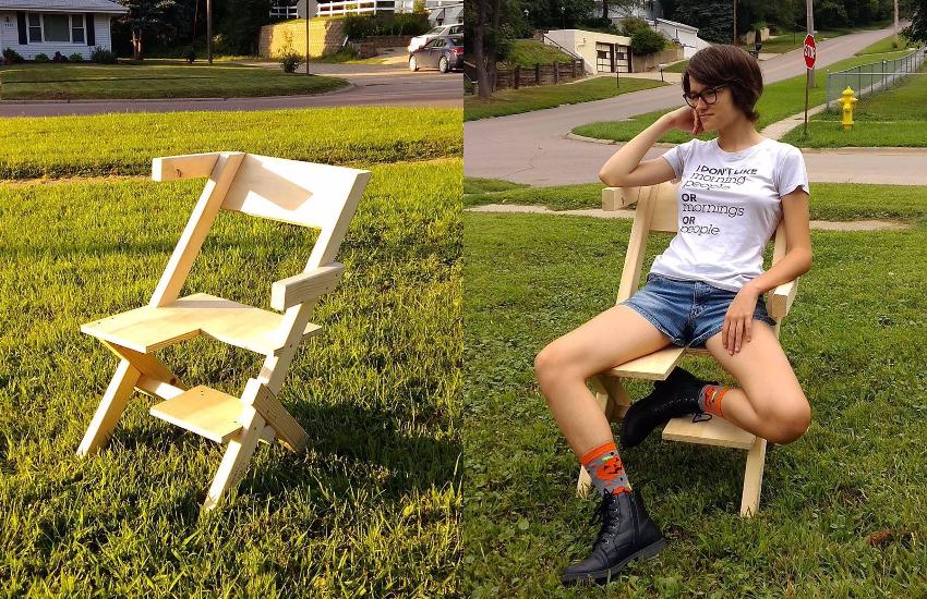Brezilyalı Tasarımcıdan Dünyanın İlk Biseksüel Sandalyesi!