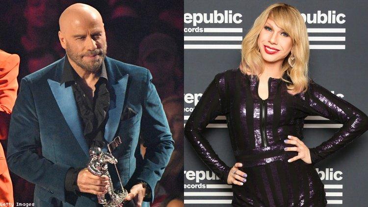 İzleyin: John Travolta, MTV Müzik Ödülleri Töreninde Taylor Swift'i Şakaladı!