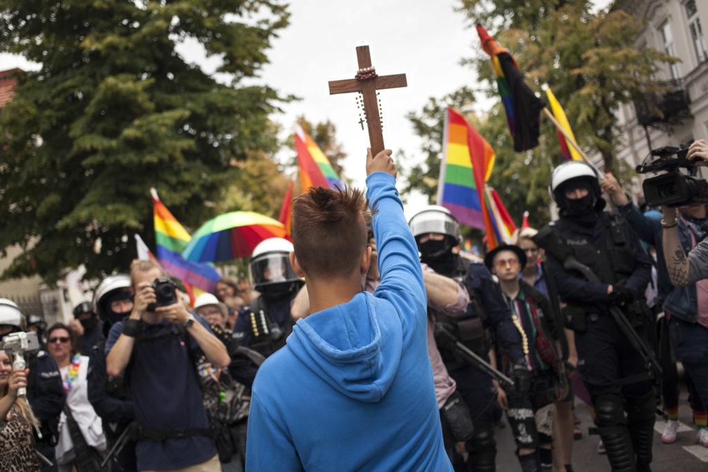 15 Yaşındaki Çocuk Polonya LGBT Yürüyüşünü Sabote Etmeye Çalıştı!