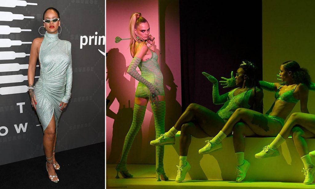 Rihanna'nın Savage X Fenty Defilesine LGBT İstilası!