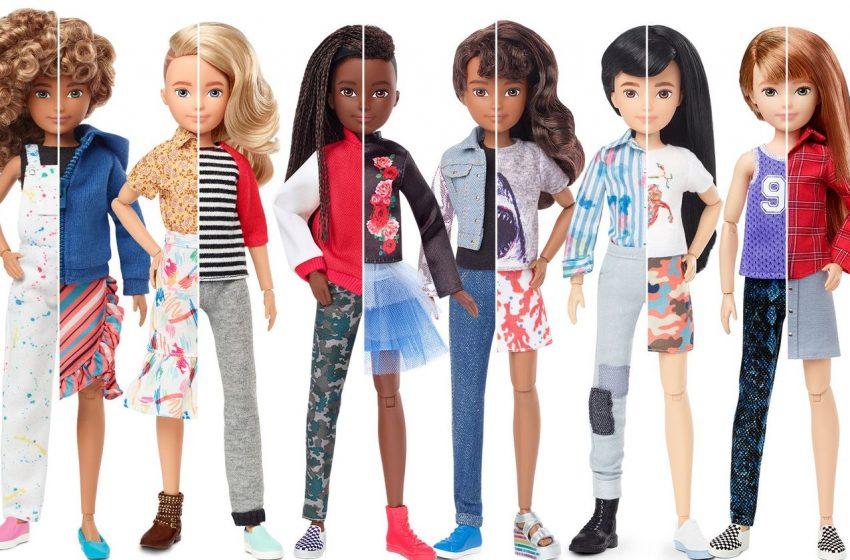 Oyuncak Şirketi Mattel Cinsiyet Ayrımı Gözetmeyen Oyuncak Bebekler Üretti