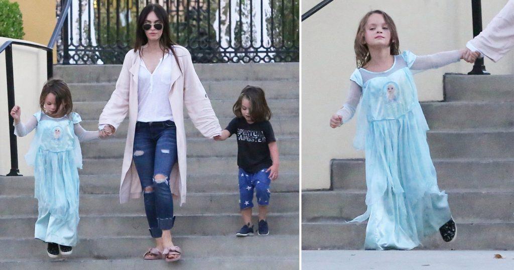 Okula Elbise Giyerek Gittiği İçin Eleştirilen Oğluna Annesi Megan Fox'tan Tavsiye: Kendin Ol!