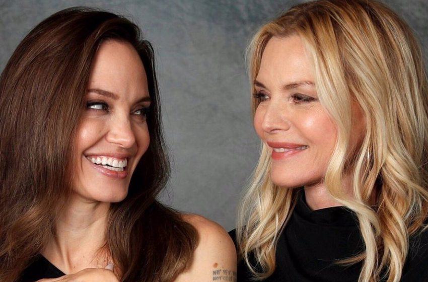 Angelina Jolie:Michelle Pfeiffer'a Aşıktım!