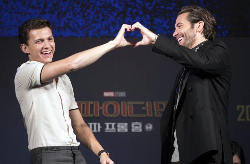 Jake Gyllenhaal, Tom Holland'a Olan Aşkını İlan Etti: Tom Çok Tatlı, Evleniyoruz