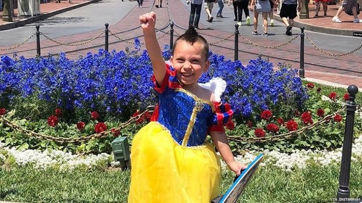 Yeni Disney Prensesi 4 Yaşındaki Otizmli Evan McLeod ile Tanışın