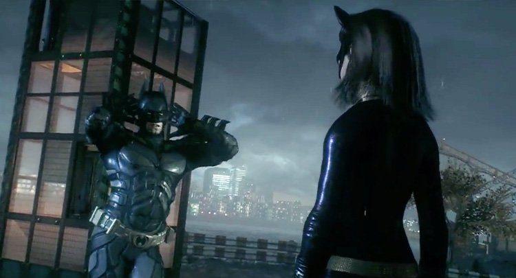 İzleyin: Batman, Arkham Knight Adlı Oyunda Cinsiyet Değiştirerek Catwoman Oldu!
