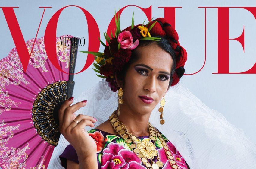 Vogue Tarihinde Bir İlk: Kendini Üçüncü Cinsiyetli Olarak Tanımlayan Estrella, Vogue Meksika Kapağında!