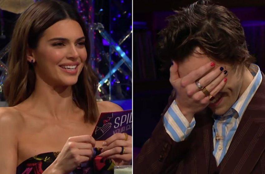 İzleyin: Harry Styles, Kendall Jenner'dan Gelen Bir Sorudan Kaçmak İçin Sperm Yedi!