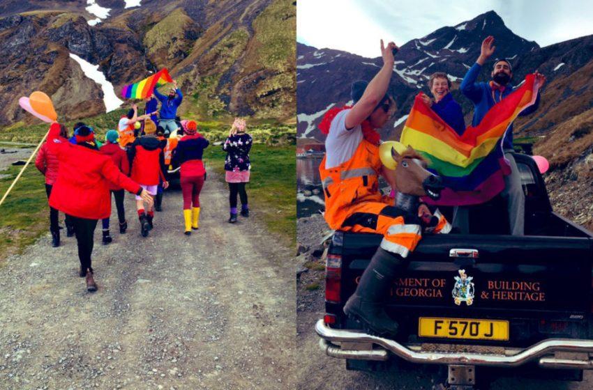 Dünyanın En Küçük Adalarından Birinde İlk Kez Pride Düzenlendi