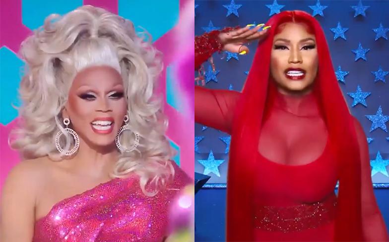 İzleyin: Nicki Minaj RuPaul's Drag Race'de!
