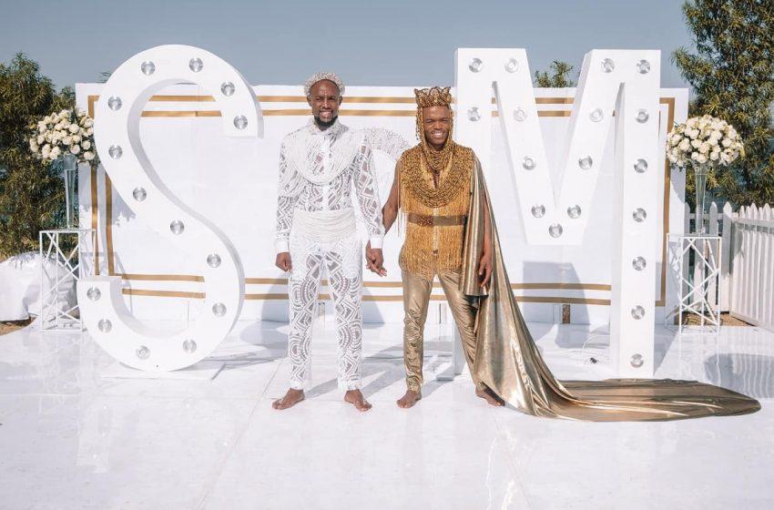İzleyin: Güney Afrikalı Eşcinsel Çiftin Dillere Destan Düğünü İzlenme Rekoru Kırdı!