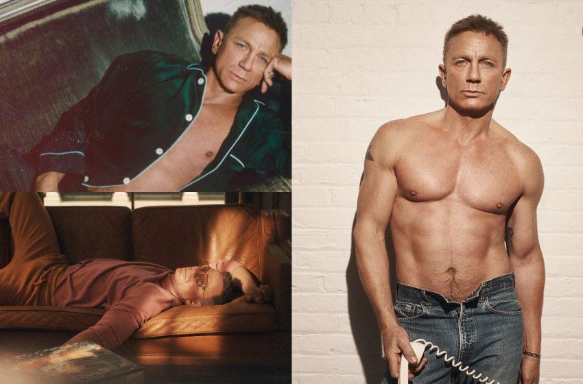 007 Daniel Craig GQ İngiltere İçin Soyundu!