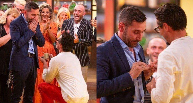 İzleyin: Masterchef Kazananı, Canlı Yayında Erkek Arkadaşına Evlenme Teklifi Etti