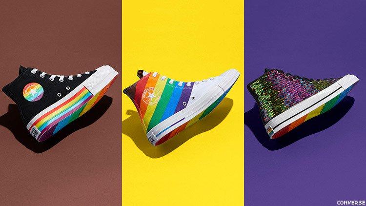 Yeni Pride Koleksiyonunu Çıkaran Converse, LGBT Derneklerine 1 Milyon Dolardan Fazla Yardımda Bulundu
