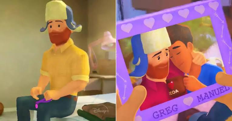 İzleyin: Pixar, Baş Karakteri Eşcinsel Olan İlk Animasyon Filmini Yayınladı