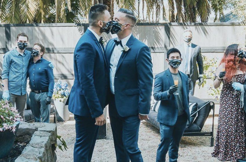 Sosyal Mesafeli ve Maskeli Düğün!