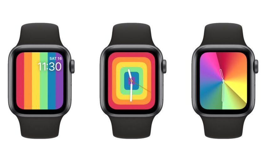 Apple, Saatlerine Özel Gökkuşağı Temalı Pride Güncellemesi Getirdi!