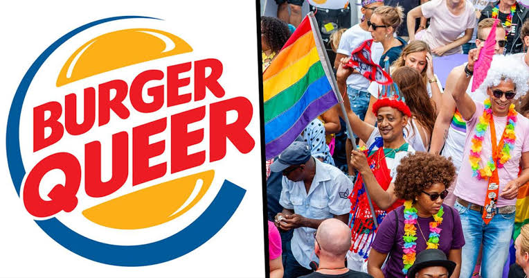 """Burger King Logosunu Pride Ayına Özel """"Burger Queer"""" Yaptı"""