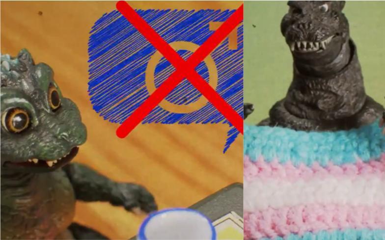 İzleyin: Godzilla'nın Yaratıcıları, Godzilla'nın Çocuğunun Transseksüel Olduğunu Açıkladı