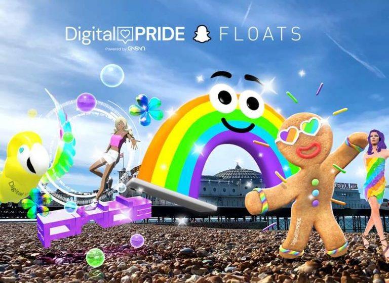 Snapchat Pride'ı Yeni Özellikleriyle Kutluyor