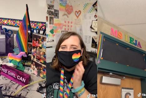 Pride Bayrağını Kaldırması İstenen Öğretmenin Okul Yönetimine Cevabı Viral Oldu!