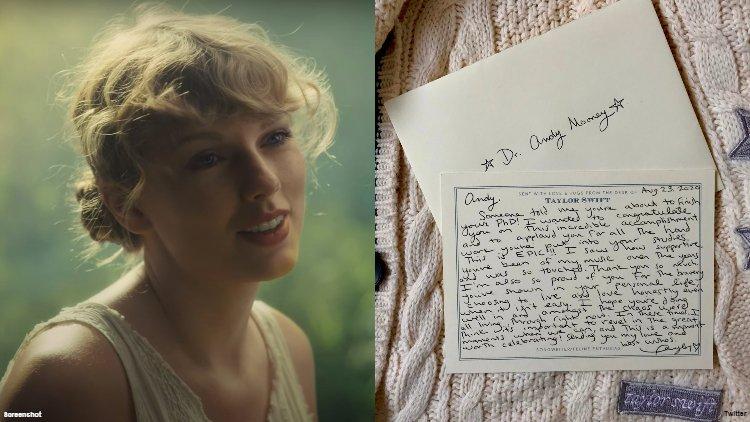 Taylor Swift'ten Eşcinsel Hayranına El Yazısıyla Mektup