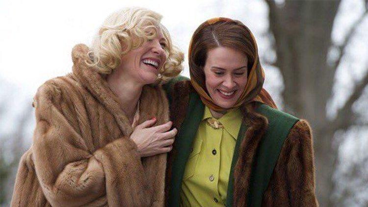 Sarah Paulson Cate Blanchett'la Birlikte Carol'ın Öncesini Anlatan Bir Film Çekmek İstiyor