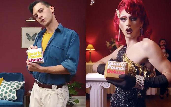 İzleyin: McDonald'sın Yeni Reklamı İnanılmaz Bir Drag Kraliçesi Dönüşümü İçeriyor