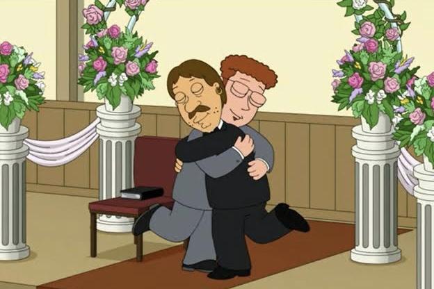 İkonik Family Guy Karakteri Sonunda Eşcinsel Olarak Açıldı ve Erkek Arkadaşıyla Evlendi