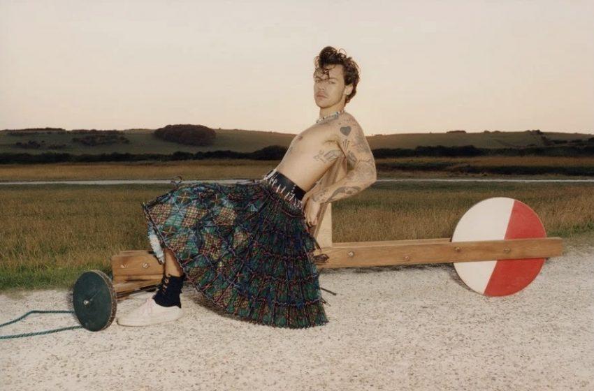 Harry Styles: Kadın Kıyafetlerine Bayılıyorum
