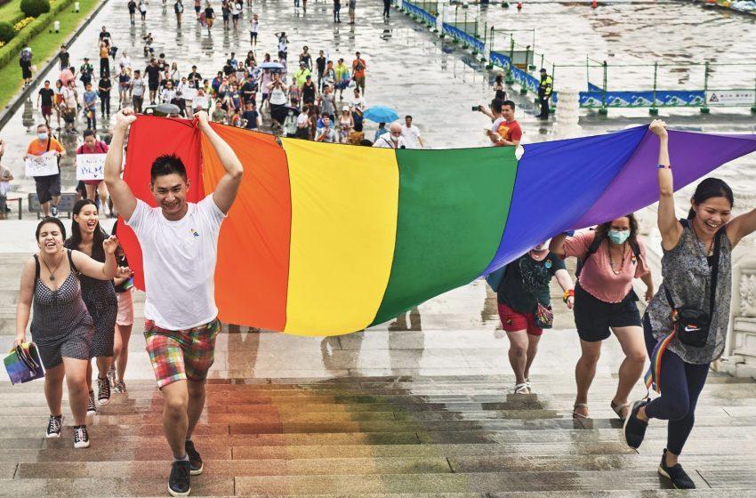 COVID'den Kurtulan Tayvan'ın Pride Etkinliğine 130 Bin Kişi Katıldı!