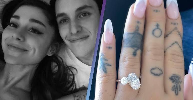 Ariana Grande Nişanlandığını Duyurdu
