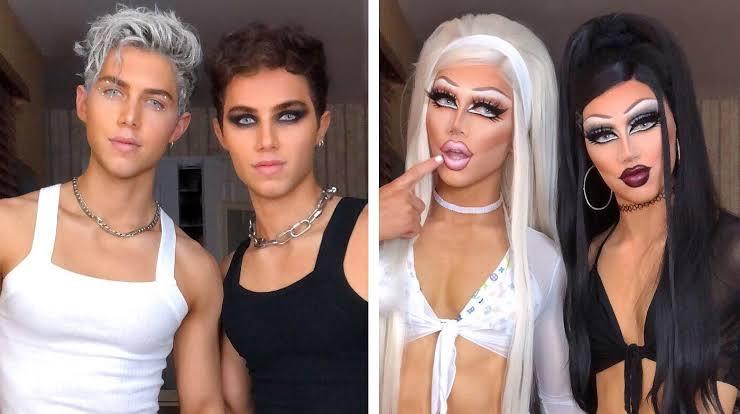 """Eşcinsel Tiktoker Kardeşlerden """"Trans Mısınız?"""" Sorusuna Harika Cevap!"""