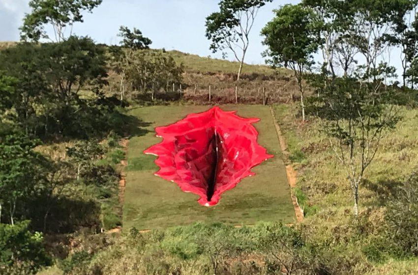 Brezilya'daki 33 Metrelik Vulva Heykeli Olay Yarattı!