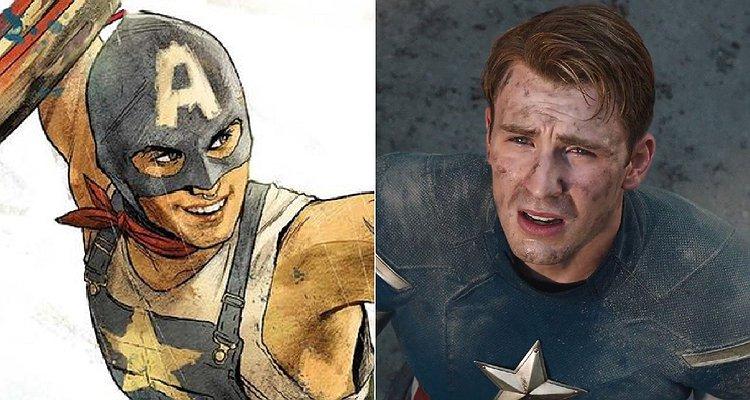 Marvel'ın İlk Eşcinsel Kaptan Amerika'sı Bu Yıl Ekranda Olacak!