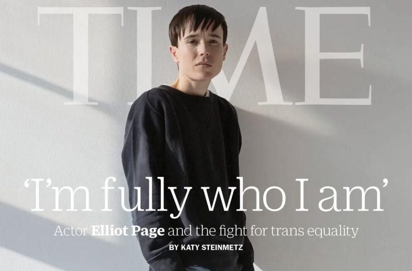 Elliot Page Tarih Yazdı: Time'ın Kapağında Yer Alan İlk Trans Erkek