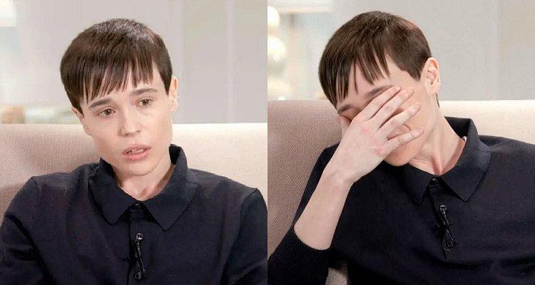 İzleyin: Elliot Page Oprah Röportajında Gözyaşlarına Boğuldu