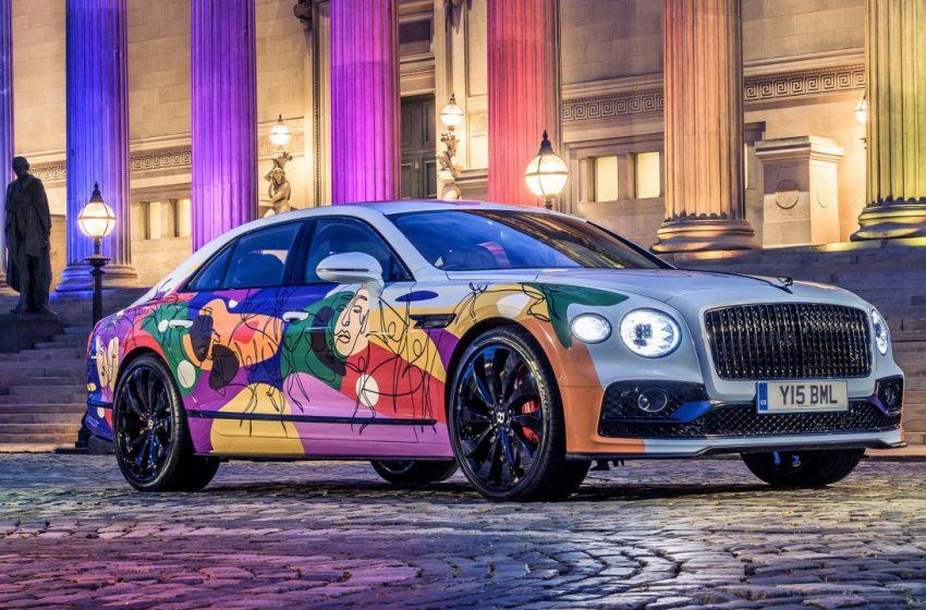 Bentley, 'Love is Love' İsmini Verdiği Eşsiz Pride Arabasını Çıkarttı