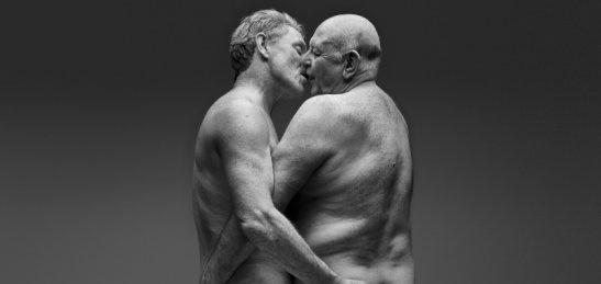 31 Yıldır Beraber Olan Çift Bir Reklam Kampanyası İçin Çıplak Poz Verdi