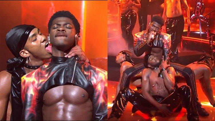 İzleyin: Lil Nas X Homoerotik Performansıyla SNL'i Salladı!
