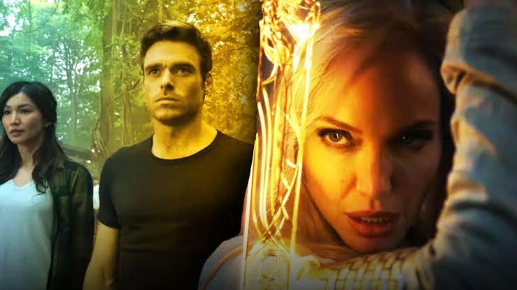 Marvel, Angelina Jolie'li Eşcinsel Süper Kahraman Filmi Eternals'dan İlk Görüntüleri Yayınladı!