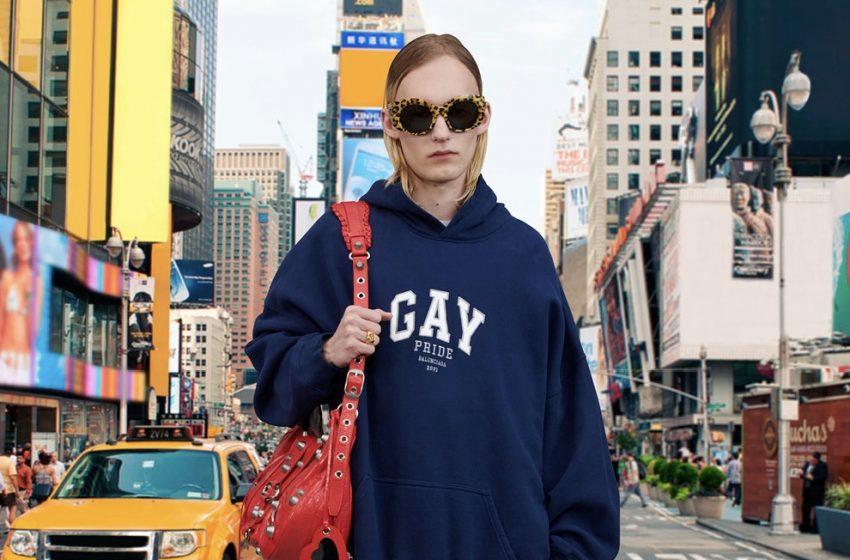 Balenciaga Pride Koleksiyonu'nu Piyasaya Sürüyor