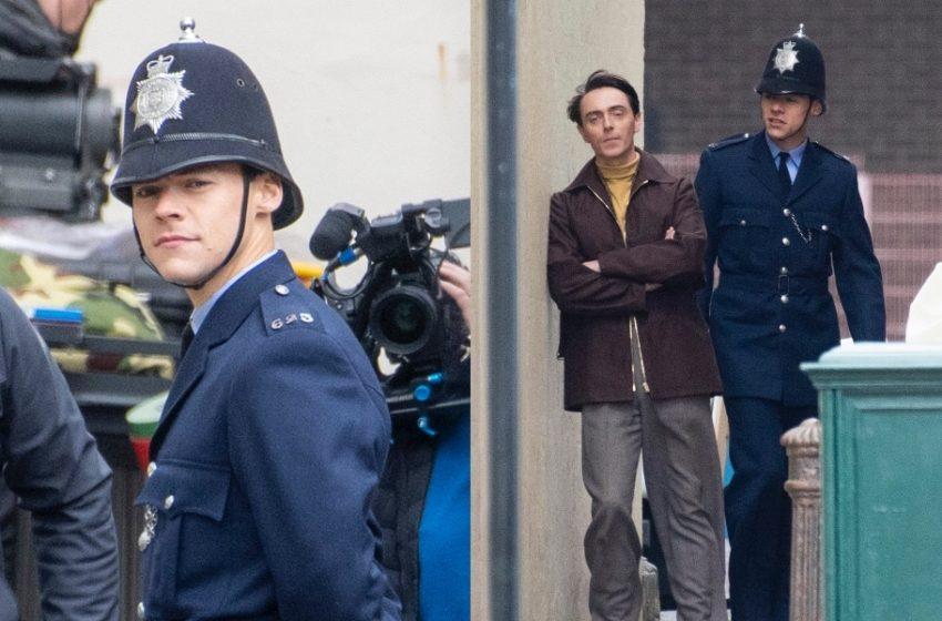 Harry Styles'ın Eşcinsel Bir Polisi Canlandırdığı Yeni Filminden İlk Kareler Geldi