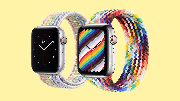 Apple Watch'un Pride Versiyonu İlk Kez Siyah, Kahverengi ve Trans Bayrağı Renklerini de İçeriyor