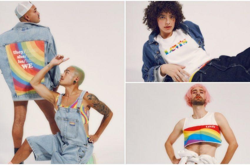 Levi's, Zamirlere Dikkat Çeken Pride Koleksiyonunu Çıkardı