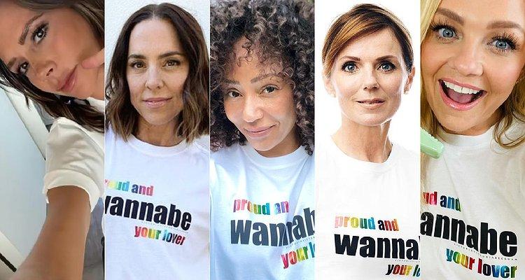 Spice Girls Pride'ı Kutlamak İçin Bir Araya Geldi