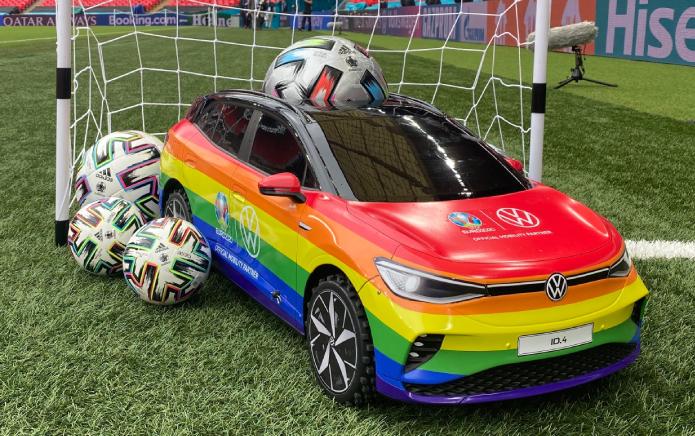 Euro 2020'nin Kapanışını Pride Arabası Yapacak