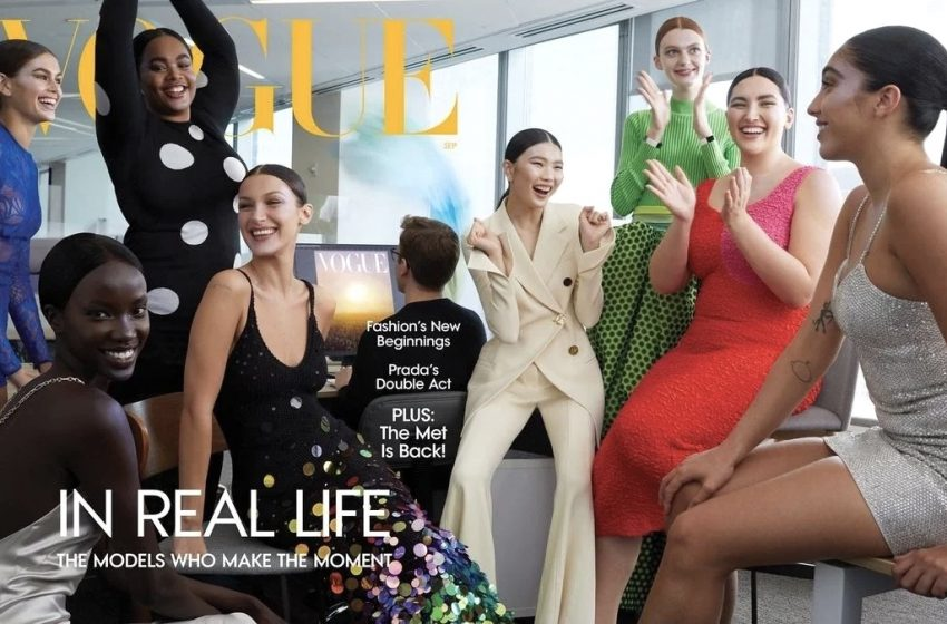 Ariel Nicholson, Vogue Amerika'nın Kapağında Yer Alan İlk Trans Model Olarak Tarihe Geçti