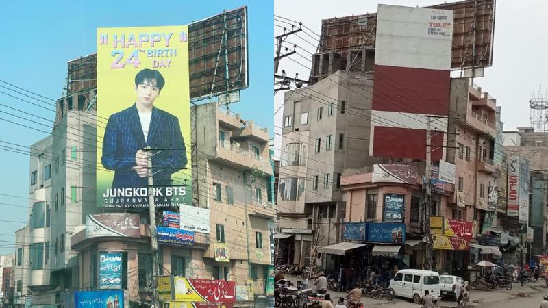 Pakistan'daki BTS Bilboard'u 'Eşcinselliği Teşvik Ettiği' Gerekçesiyle Kaldırılınca Tepkilere Neden Oldu