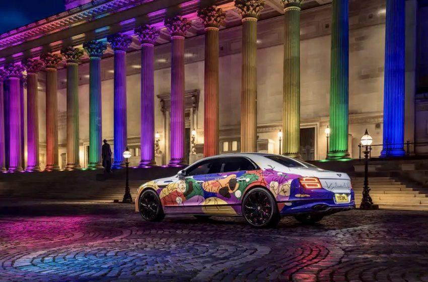 Bentley, Pride'dan Esinlenen Arabasıyla Şirket İçerisinde Daha Fazla Çeşitlilik Taahhütünde Bulundu